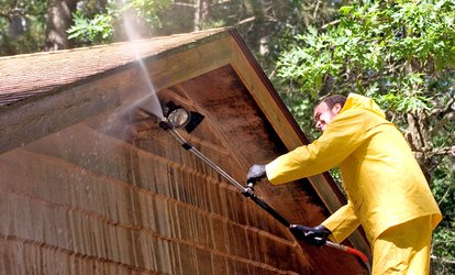 Up to 55% Off Hot Water Power-Washing Services
