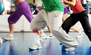 Tone At Home Fitness: 5 or 10 Zumba Classes at Tone At Home Fitness (Up to 65% Off)