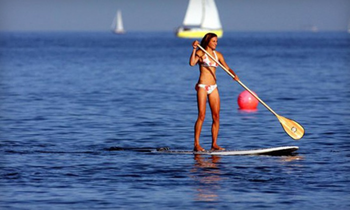 Sunrise Paddleboards - Bal Harbour: Two-Hour Paddleboard Rental or a Two-Hour Paddleboard Lesson and Tour at Sunrise Paddleboards (Up to 70% Off)