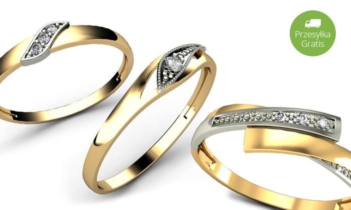 Pierścionek Zaręczynowy Z Brylantem Groupon