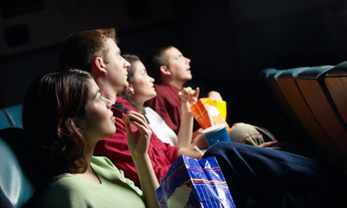 Movie World Cinemas - Douglaston Little Neck: Movie Outing with Popcorn and Soft Drinks for One, Two, or Four at Movie World Cinemas (Up to 58% Off)