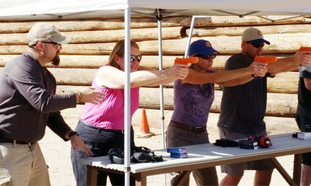 Four-Hour Zombie-Themed Defensive Handgun Course for One or Two at RealWorld Firearms Training (Up to 61% Off)