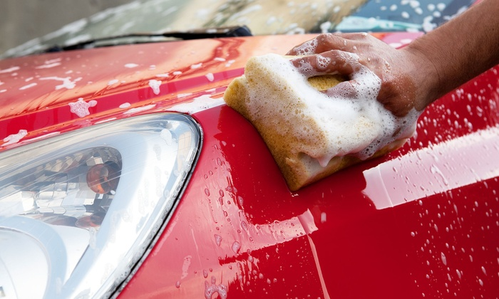 Village Detail - Acton: $45 for an Express Auto Exterior Detailing and Interior Cleaning at Village Detail ($110 Value)
