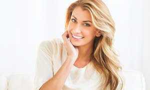 La Reine: Brazilian Split End Repair or Haircut, Blow-Dry, and Highlights   at La Reine (Up to 54% Off)