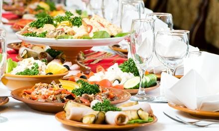 M.U.S. Plön Catering mit Schweinebraten und Geschnetzeltem für 10 oder 15 Personen von derFleischerei Löken ab 99,90 €