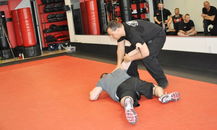 Krav Defense - Bethpage: Two Weeks or One Month of Unlimited Cardio Krav Classes with Boxing Gloves at Krav Defense (Up to 87% Off)