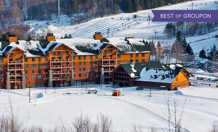 2-Night Stay with Water Park, Zip-Line, or Spa Packages at Hope Lake Lodge and Conference Center...