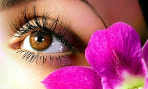 Faces By Dre: Full Set of Eyelash Extensions at Faces by Dre (51% Off)