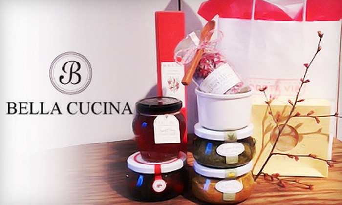 Bella Cucina - Virginia Highland: Valentine's Day Gift Bag or Gifts and Groceries at Bella Cucina (Up to 58% Off). Three Options Available.