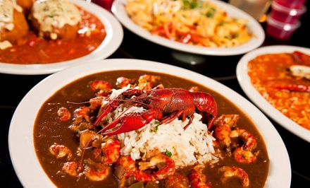 Cajun Food at Bayou Jack's (Up to 43% Off). Two Options Available.