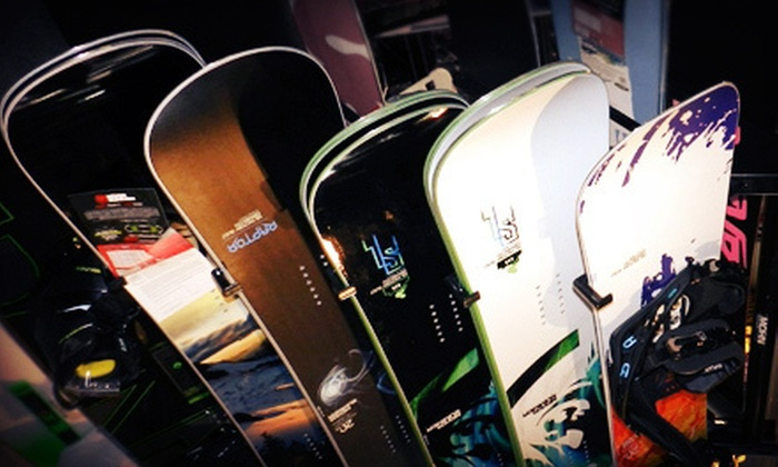 Riptank Boardshop - North Overton: $25 for $50 Worth of Board-Sport Apparel and Gear from Riptank Boardshop