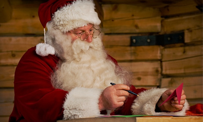 A Banners Inc: $5 for a Customized Letter from Santa with North Pole Postage and Autographed Picture from A Banners Inc ($9.95 Value)