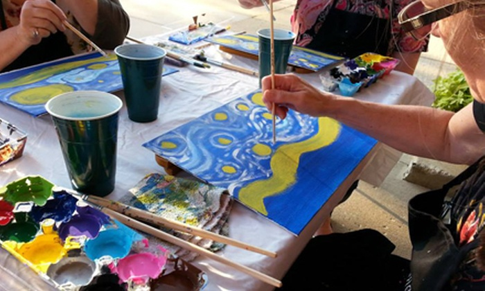 Inspired Art Studio - Algonquin: BYOB or Healing Art Painting Class for One or Two at Inspired Art Studio (Up to 51% Off)