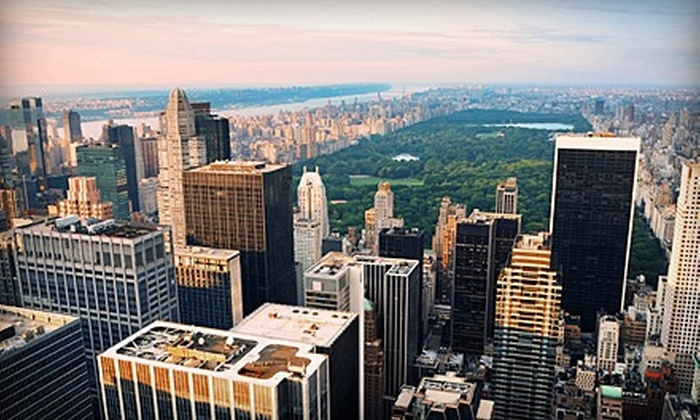 NYSee Tours - Theater District - Times Square: Five-Hour Get Acquainted West Side Tour of New York City for One, Two, or Four from NYSee Tours (Up to 72% Off)
