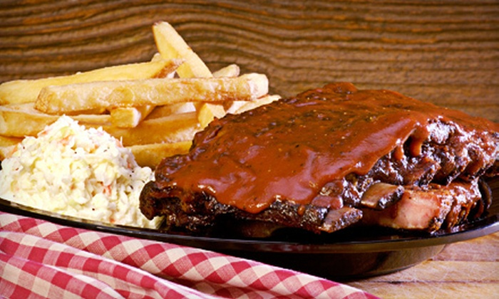 Virginia BBQ - Manassas: Combo Meals for Two or Four or Catering Package for Up to 12 at Virginia BBQ (Up to 51% Off)