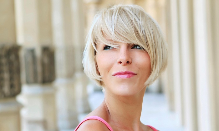 Cathy at Stillmans - Lansing: Haircut, Highlights, and Style from Cathy at Stillman's Modern Barbers (60% Off)