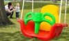 Balançoire siège enfant 2 en 1