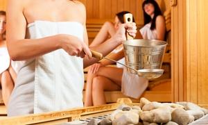 Sauna Leben: Tageskarte für die Sauna-Landschaft, optional mit Massage, für 1 oder 2 Personen bei Sauna Leben (bis zu 47% sparen*)