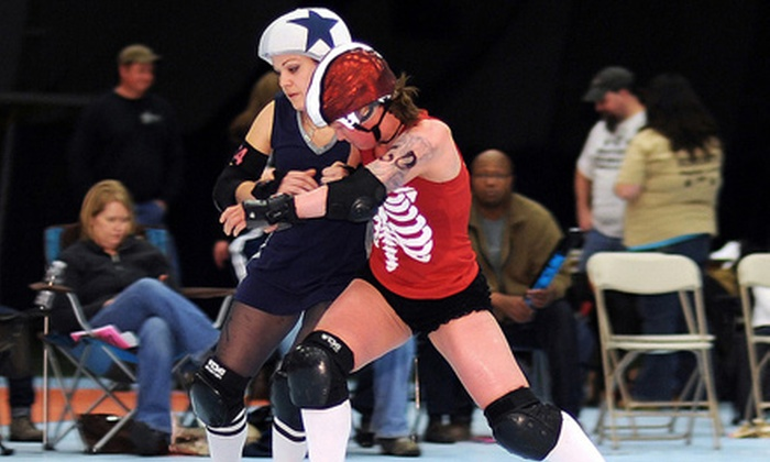 CT RollerGirls - Woodbridge: $12 for a CT RollerGirls Bout for Two at Connecticut Sports Center (Up to $30 Value). Three Dates Available.