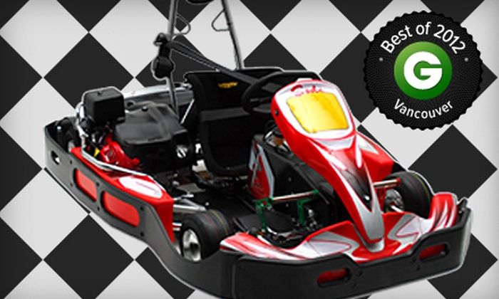 TBC Indoor Racing - Indoor Kart Racing at TBC: One Race or Exclusive Group Go-Kart Racing for up to 12 Karts with 15-Minutes of Track Time (Up to 55% Off)