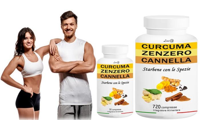 pastiglie per dimagrire curcuma e piperina