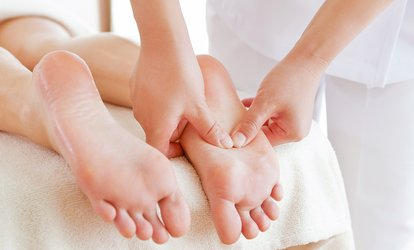 Up to 75-Minute Foot Reflexology with Optional Pedicure at Sheira Beauty & Ladies Nail Spa