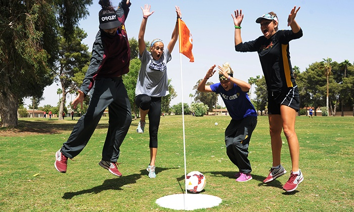 Shalimar Country Club - Shalimar Golf Club: 18-Hole Round of FootGolf and Lunch for Two or Four at Shalimar Country Club (Up to 44% Off)