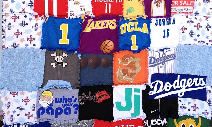 Mominizer: $60 for a Custom T-shirt Quilt from Mominizer ($120 Value)