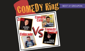Comedy Ring, Quiliano - Savona: Comedy Ring il 4 giugno al Teatro Nuovo Valleggia di Quiliano - Savona (sconto 40%)