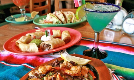 Mexican Cuisine and Drinks at Mi Ranchito Restaurant & Cantina, Est. 1974 (Up to 50% Off). Two Options Available.