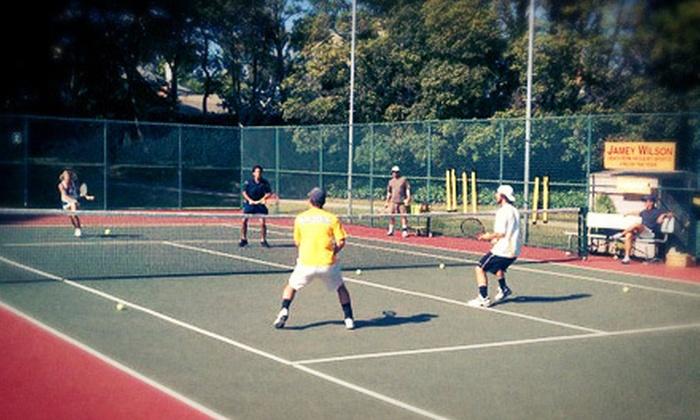 Pacific Palisades Tennis Center - Multiple Locations: One-Week Junior Tennis Camp or Three 90-Minute Group Lessons at LA Tennis (Up to 51% Off). Three Locations Available.