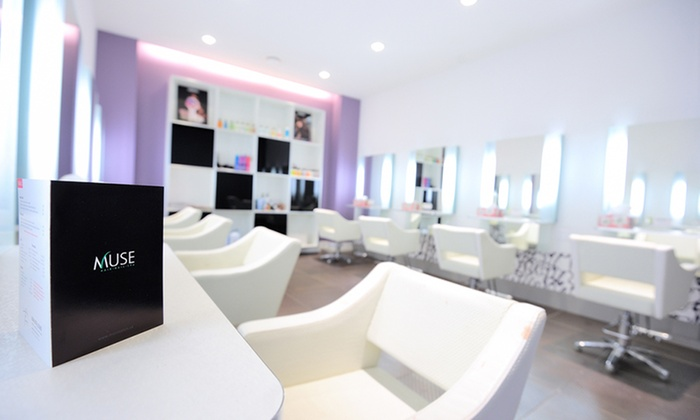 Muse Hair & Beauty Salon - Mt. Pleasant: C$35 for a Haircut, Head Massage and Deep Conditioning Treatment at Muse Hair & Beauty Salon (C$75 Value)