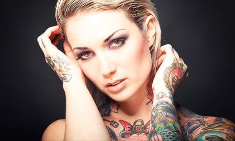 Paga 19 € por un descuento de 110 € para un tatuaje en color o en negro en 2 centros