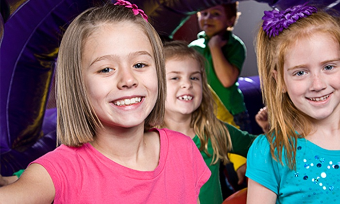 BounceU - Charlotte: Open Bounce, Pre-K Drop-Off Program, One-Day Camp, or Bounce Party for 12 at BounceU (Up to 50% Off)