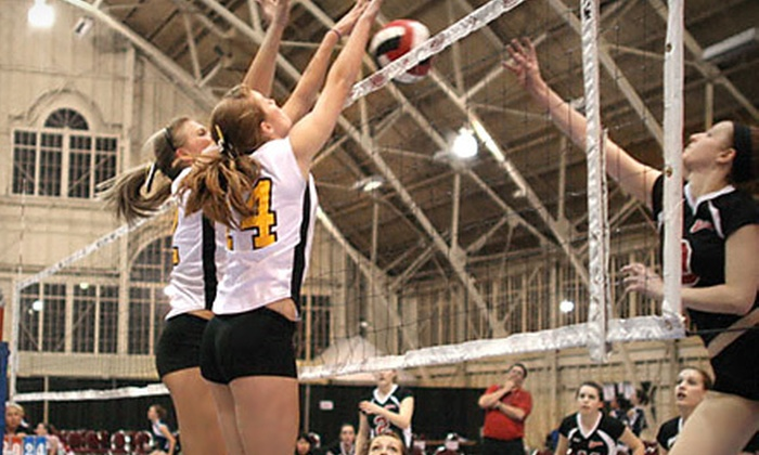 Pakmen Volleyball Club - Multiple Locations: 10-Week Youth Volleyball at Pakmen Volleyball Club in Mississauga (Half Off). Six Options Available.