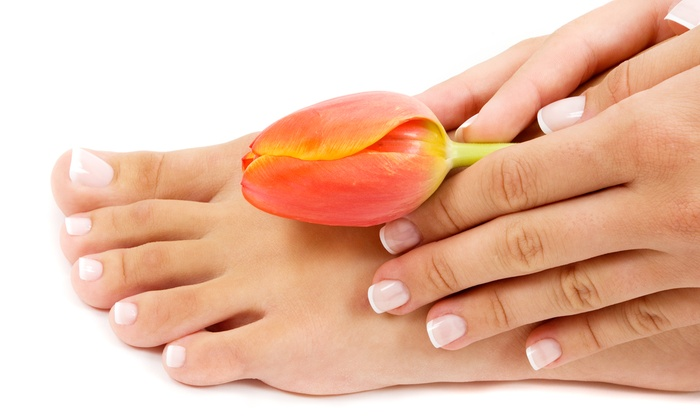 Lynn Cheary at Gary's Kut and Kurl - Ceres: Mani-Pedis from Lynn Cheary at Gary's Kut and Kurl (Up to 55% Off). Four Options Available.