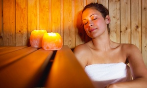 CoCo Greens: 5 or 10 Infrared-Sauna Sessions or Migun Thermal Massages at Center of Symmetry (Up to 56% Off)