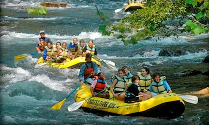 Endless River Adventures - Nantahala: Whitewater-Rafting Trips for Two from Endless River Adventures in Bryson City (Up to 60% Off). Three Options Available.