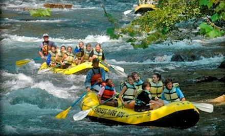 Half-Day Unguided Whitewater-Rafting trip on the Nantahala River for 2 People with Some Rafting Experience (a $40 value) - Endless River Adventures in Bryson City