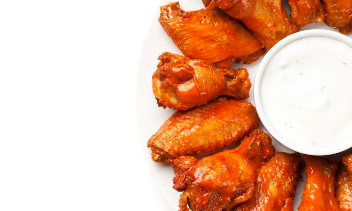 Wing Heaven - Kentwood: Wings with 23 Signature Sauces and Casual American Food at Wing Heaven (Up to 42% Off). Two Options Available.