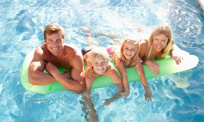 Le Club - Glendale: Five Passes for Outdoor Pool Visits, Fitness Classes, or Gym Visits for an Individual or a Family at Le Club (Up to 89% Off)