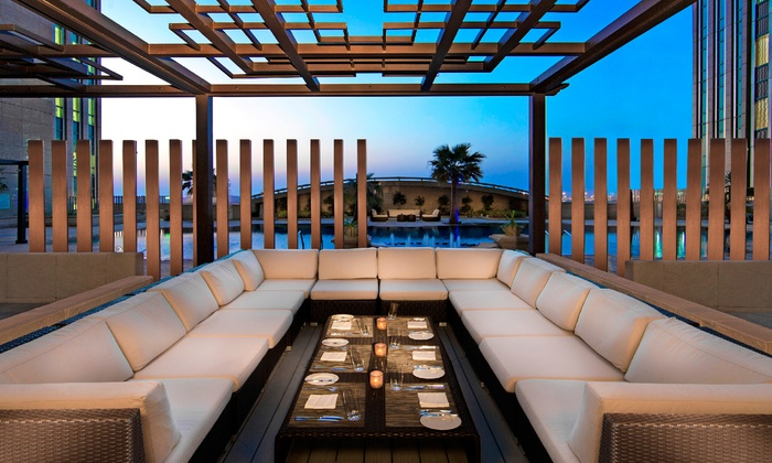 Grills@Chill'O - Abu Dhabi: Up to AED 325 Toward any House Beverages at Grills@Chill'O, Sofitel Abu Dhabi