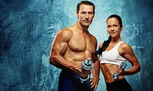 Fit 12: One or Three Months of Fitness and Spa Access with Options for Boot-Camp Classes at Fit 12 (Up to 87% Off)