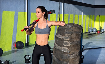 One-month of unlimited CrossFit-style boot camp