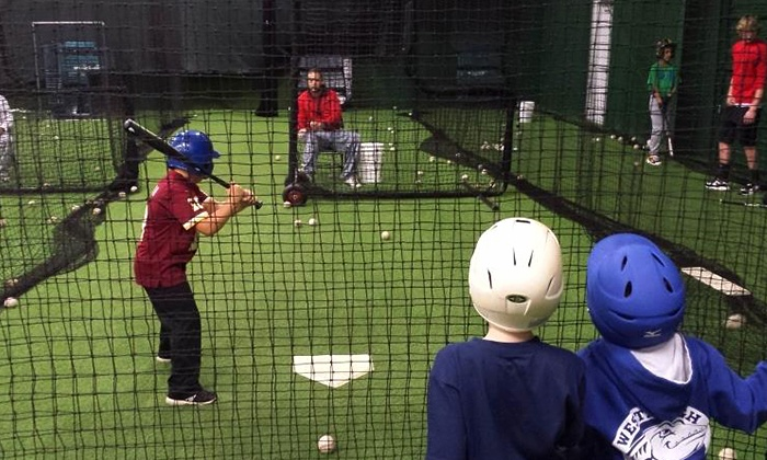 Round Trip Sports - 9: $149 for a Five-Day Youth Baseball Camp at Round Trip Sports ($250 Value). Five Sessions Available.