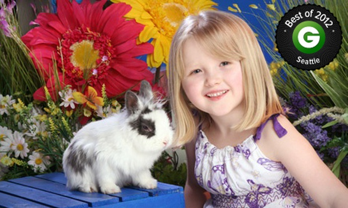 Yuen Lui Studio - Multiple Locations: $49 for an Easter Bunny Photo Shoot with Prints and a Digital Image at Yuen Lui Studio ($485 Value)