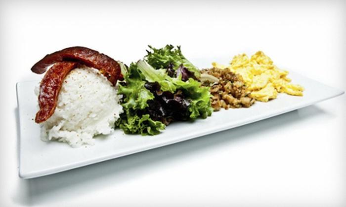 moto-i - Lyn-Lake: Japanese and Asian-Fusion Food at moto-i (50% Off). Three Options Available.