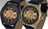 Croton Imperial Men's Skeleton Watches: Croton Imperial Men's Skeleton Watches. Multiple Colors Available.