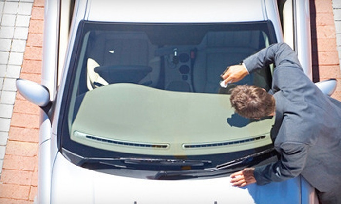Henderson Glass - Multiple Locations: $19 for Three Windshield-Chip Repairs at Henderson Glass ($89.95 Value)