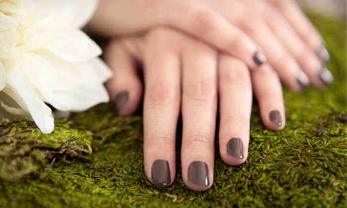 Pelican Nails - Naples: Regular or Shellac Manicure with Sea-Salt Pedicure at Pelican Nails (Up to 54% Off)